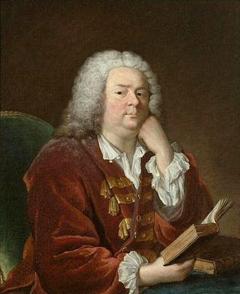 Jean-Baptiste Rousseau (1670-1741)   Jacques AndrE Joseph Aved   Oil Painting