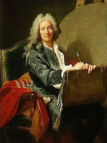 Pierre-Jacques Cazes   Jacques AndrE Joseph Aved   Oil Painting