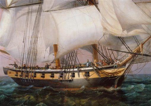 Retour de l'i?le d'Elbe (28 fevrier 1815)- detail | Louis Garneray | Oil Painting