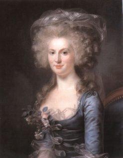 Portrait of Anne-Félicité Grésille | Marie Gabrielle Capet | Oil Painting