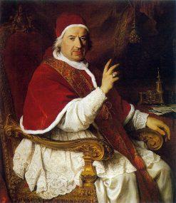 Pope Benedictus XIV | Pierre Subleyras | Oil Painting