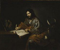 Saint Luke | Valentin de Boulogne | Oil Painting