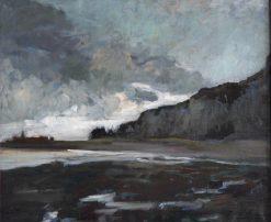 La Plage de Dieppe | Jacques Emile Blanche | Oil Painting
