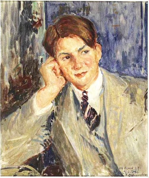 Study Portrait of Louis Lebreton | Jacques Emile Blanche | Oil Painting