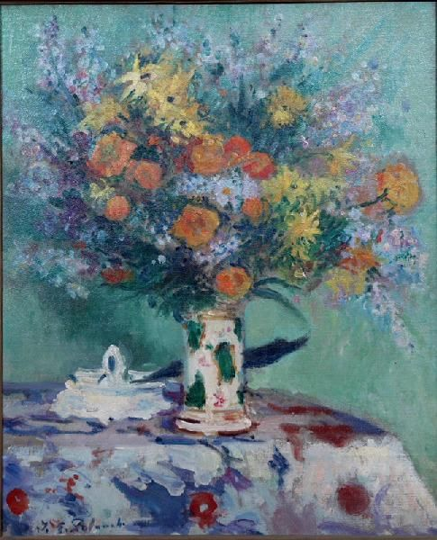 Flowers | Jacques Emile Blanche | Oil Painting