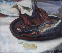 Still-Life with Fish | Jacques Emile Blanche | Oil Painting
