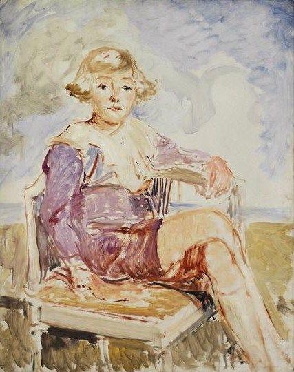 Le Comte Francois de Bourbon-Busset   Jacques Emile Blanche   Oil Painting