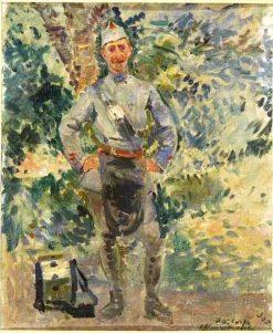 Le Tambour | Jacques Emile Blanche | Oil Painting
