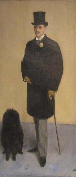 Louis Metman   Jacques Emile Blanche   Oil Painting