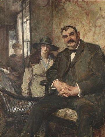 Portrait of Bénoni Ropert | Jacques Emile Blanche | Oil Painting