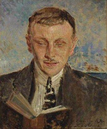 Portrait of Francois Legris | Jacques Emile Blanche | Oil Painting