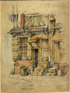 Quai du Hable a Dieppe - le petit Veules | John Sell Cotman | Oil Painting