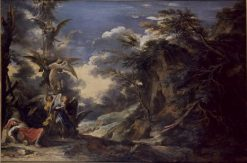 Jacob's Dream | Salvator Rosa | Oil Painting