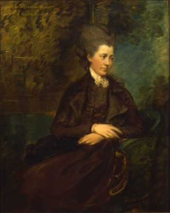 Portrait of Georgiana Poyntz