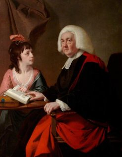 The Reverend Thomas Wilson and Miss Catherine Macaulay | Joseph Wright of Derby | Oil Painting