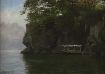 The Boating Party | Albert Bierstadt | Oil Painting