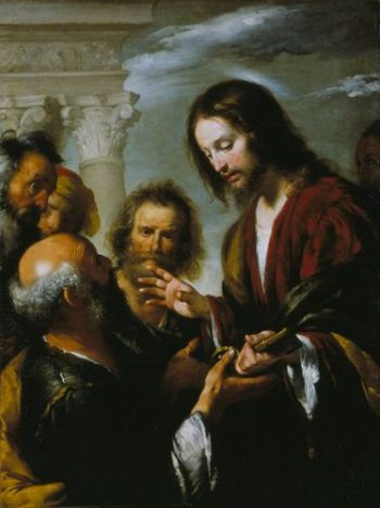 Christ's Charge to St Peter | Bernardo Strozzi | Oil Painting