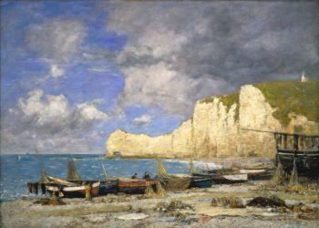 tretat | Eugene Louis Boudin | Oil Painting