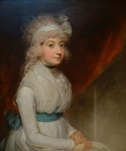 Portrait of Miss Tyre | John Hoppner | Oil Painting