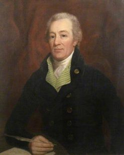Robert Tindal of Coval Hall (1749-1833) | John Jackson | Oil Painting