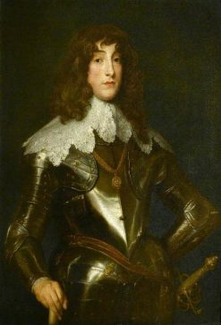 Prince Rupert (1619-1682) (or possibly Prince Maurice of the Rhine) | Anthony van Dyck | Oil Painting