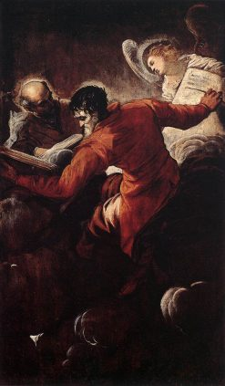 The Evangelists Luke and Matthew | Tintoretto | Oil Painting