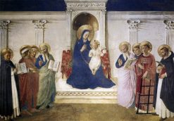 Sacra Conversazione | Fra Angelico | Oil Painting