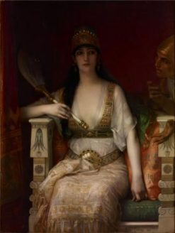 Queen Vashti | Alexandre Cabanel | Oil Painting