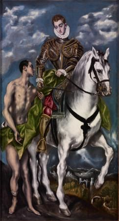 Saint Martin and the Beggar | El Greco | Oil Painting