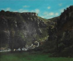 Loue Valley in Ornans | Gustave Courbet | Oil Painting