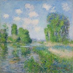 The River | Gustave Loiseau | Oil Painting