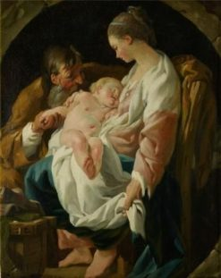 The Holy Family | Noel HallE | Oil Painting