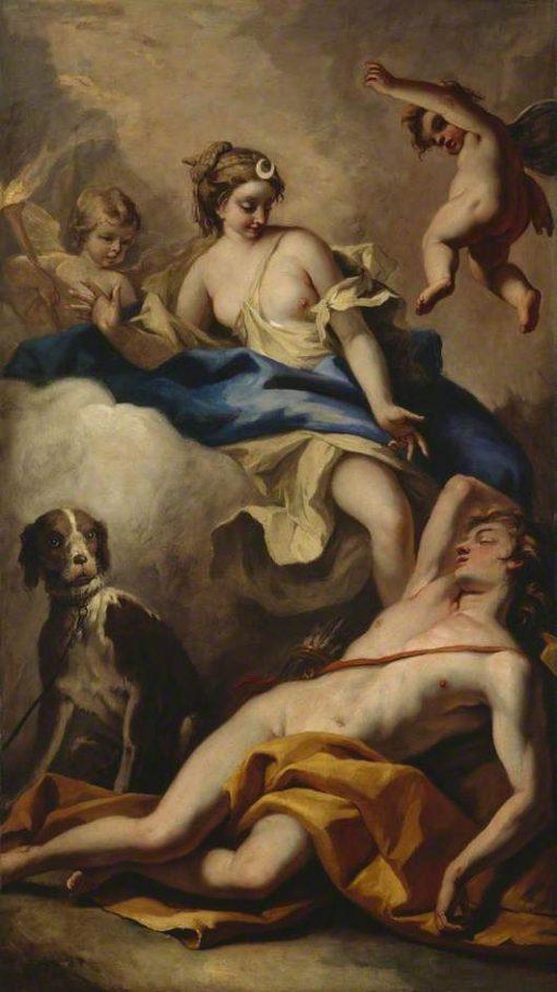 Diana and Endymion | Sebastiano Ricci | Oil Painting