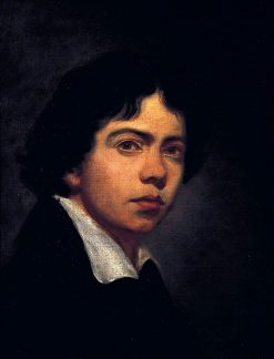 Portrait of a Young Man   John Jackson   Oil Painting