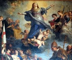 Saints Venerating Mary | Gaspard de Crayer | Oil Painting