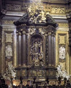 Altarpiece of Saint Ignatius Loyola | Andrea Pozzo | Oil Painting