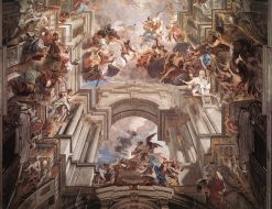 Allegory of the Jesuits' Missionary Work (detail) | Andrea Pozzo | Oil Painting