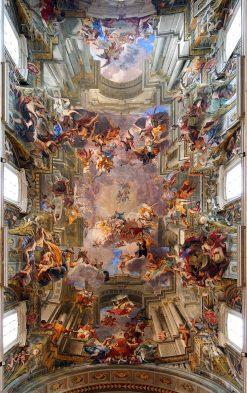Apotheosis of Sant' Ignatius | Andrea Pozzo | Oil Painting