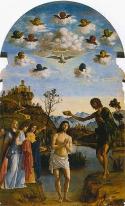 The Baptism of Christ | Cima da Conegliano | Oil Painting