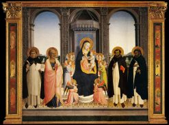 San Domenico Altarpiece | Fra Angelico | Oil Painting