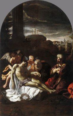 Pieta   Pietro da Cortona   Oil Painting