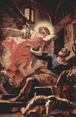 Saint Peter and the Angel | Sebastiano Ricci | Oil Painting