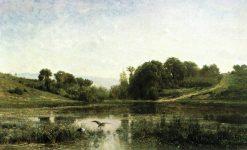The Pool at Gyliez | Charles Francois Daubigny | Oil Painting