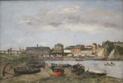 Trouville | Eugene Louis Boudin | Oil Painting