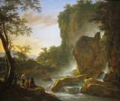 Italianate Landscape with an Artist Sketching from Nature | Jan Both | Oil Painting