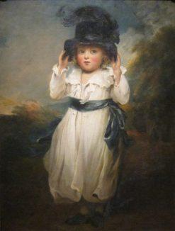 The Honourable Alicia Herbert as a Child | John Hoppner | Oil Painting