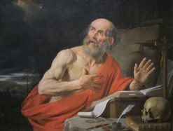 Saint Jerome | Philippe de Champaigne | Oil Painting