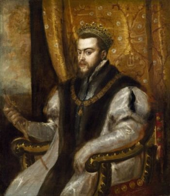 King Philip II of Spain | Titian | Oil Painting