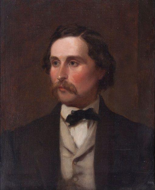 Nathan Flint Baker (1820-1891) | Emanuel Gottlieb Leutze | Oil Painting