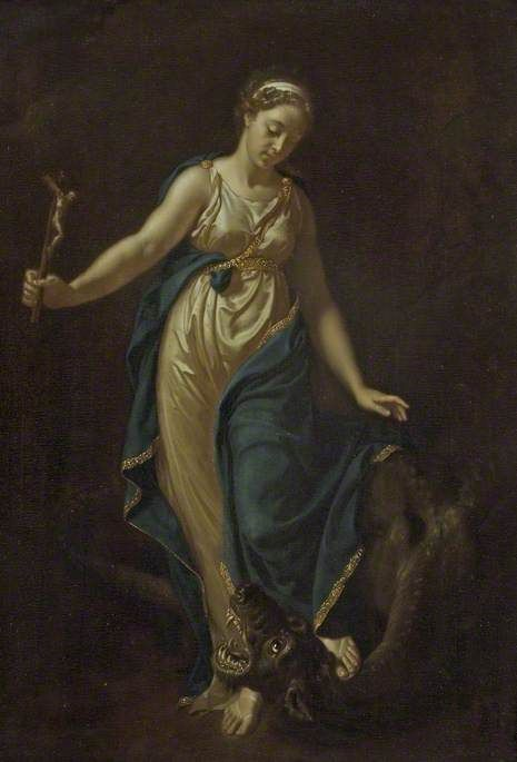 Saint Margaret and the Dragon | Adriaen van der Werff | Oil Painting